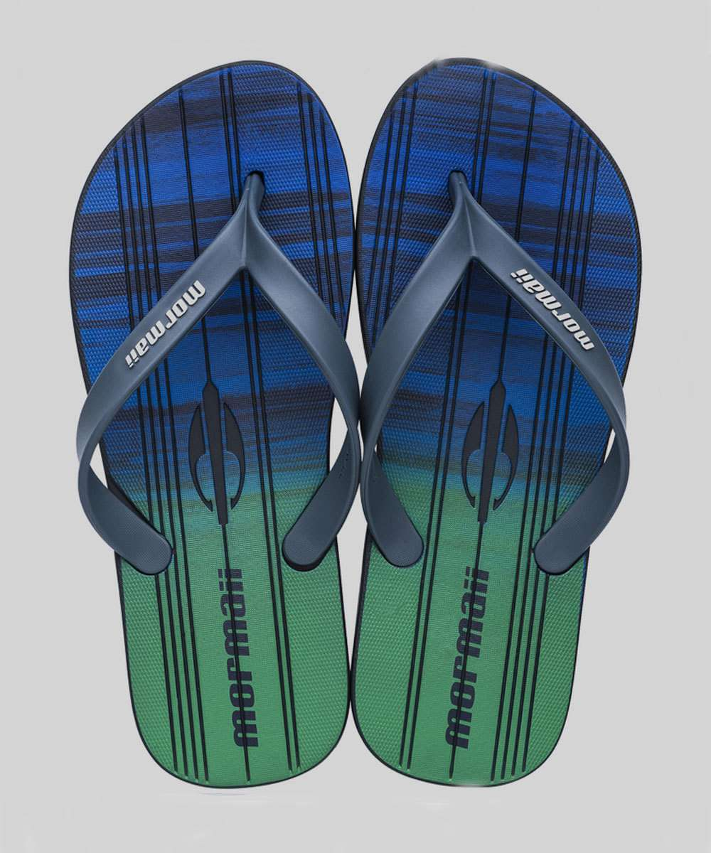 Chinelo Masculino Tropical Graphic Mormaii