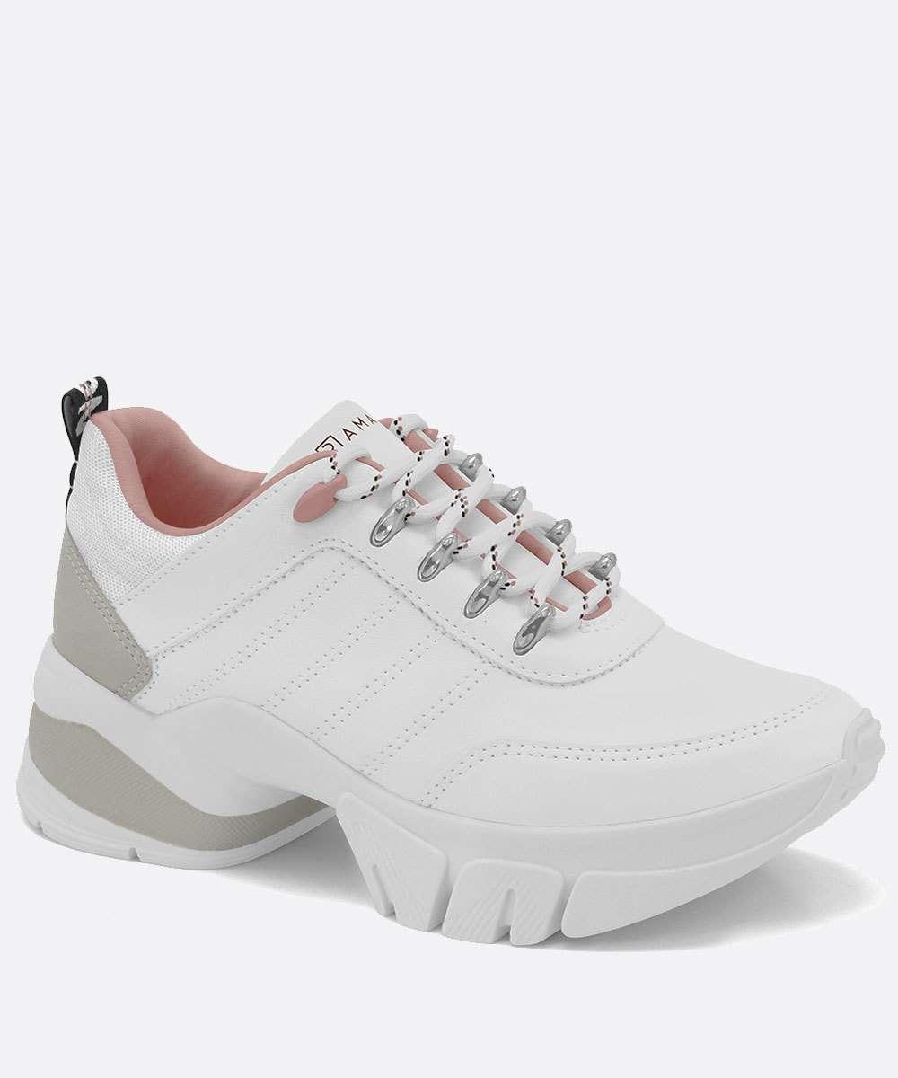 Tênis Feminino Sneaker Tratorado Ramarim