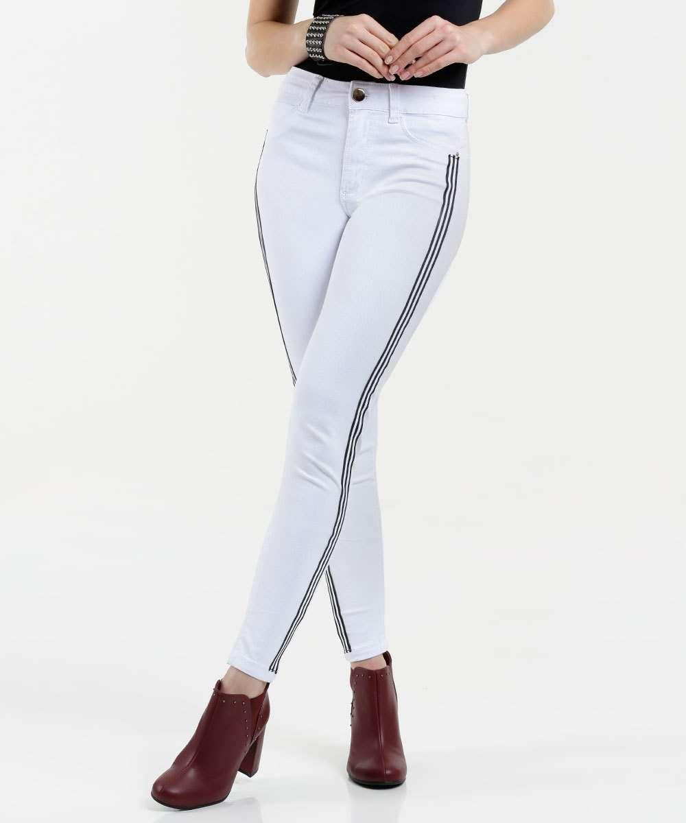 b5ec86f36 Calça Feminina Jeans Skinny Impermeável Sawary