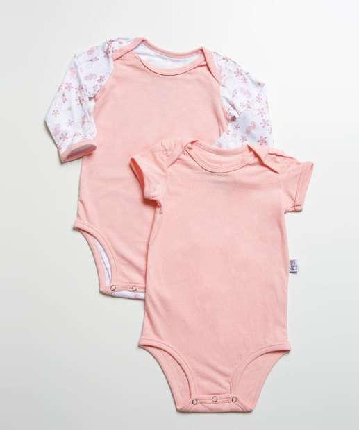 Image_Kit 2 Body Infantil Bebê Eco Sustentável DelRio