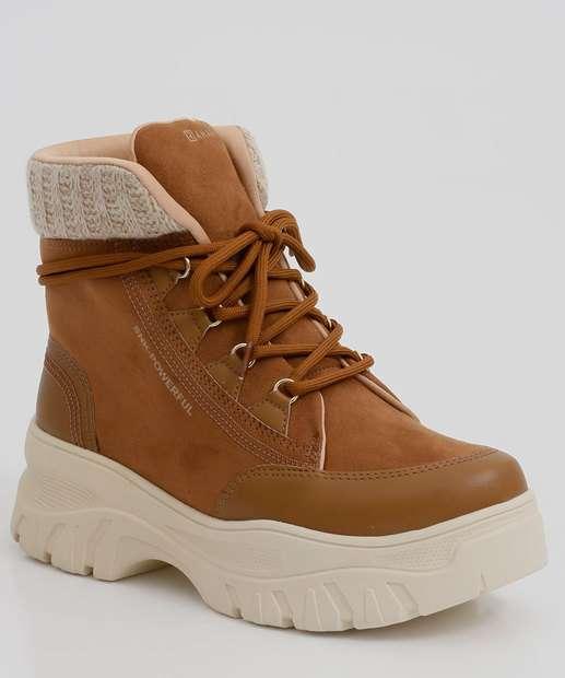 Image_Tênis Feminino Chunky Sneaker Cano Alto Recorte Ramarim