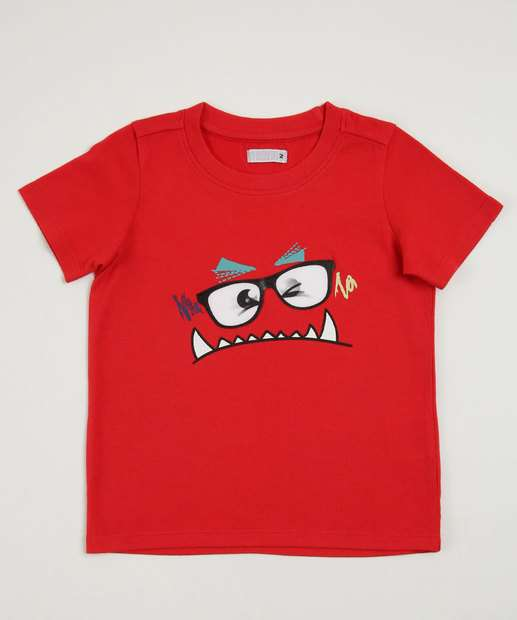 Image_Camiseta Infantil Estampa Frontal Marisa
