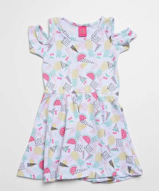 Image_Vestido Infantil Open Shoulder Estampa Frutas