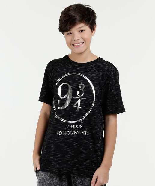 Image_Camiseta Juvenil Flamê Estampa Harry Potter Warner Bros
