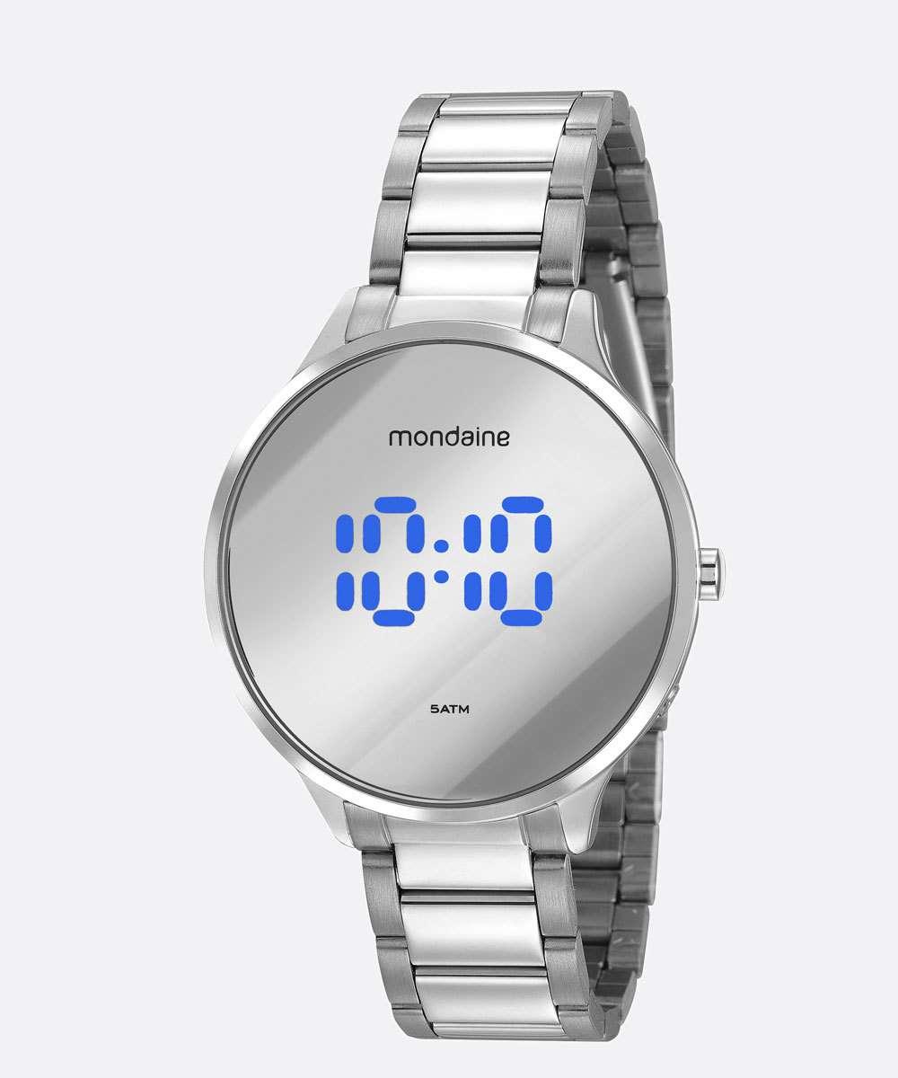 Relógio Feminino Digital Mondaine 32060L0MVNE4