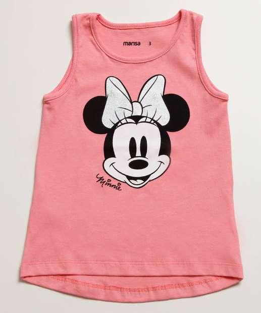 Image_Blusa Infantil Estampa Minnie Sem Manga Disney