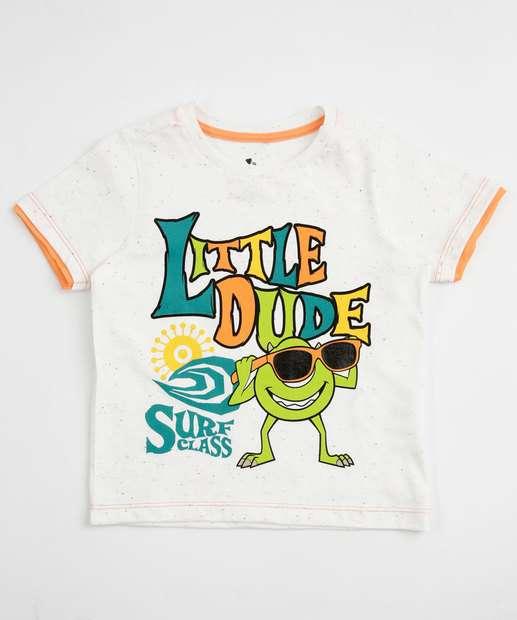 Image_Camiseta Infantil Estampa Monstros S.A Manga Curta Disney