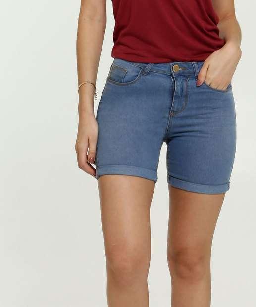 Image_Short Feminino Jeans  Barra Dobrada Marisa
