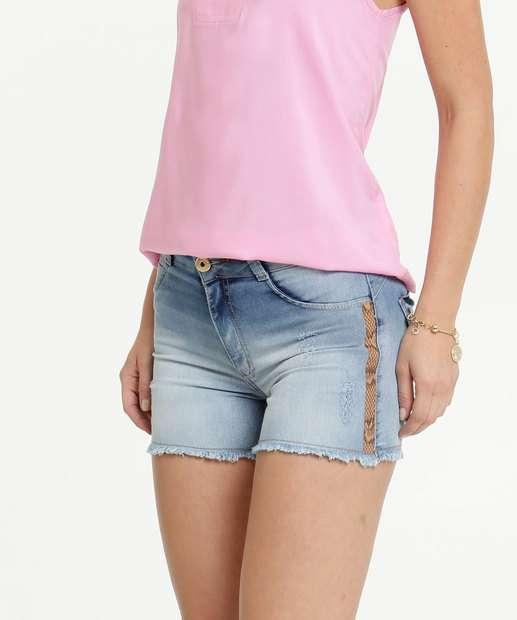 Image_Short Jeans Feminino Puídos Barra Desfiada Biotipo