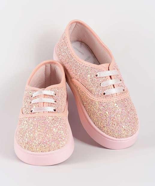 Tênis Infantil Glitter Super Leve Pimpolho 32838 e76abdf899a15