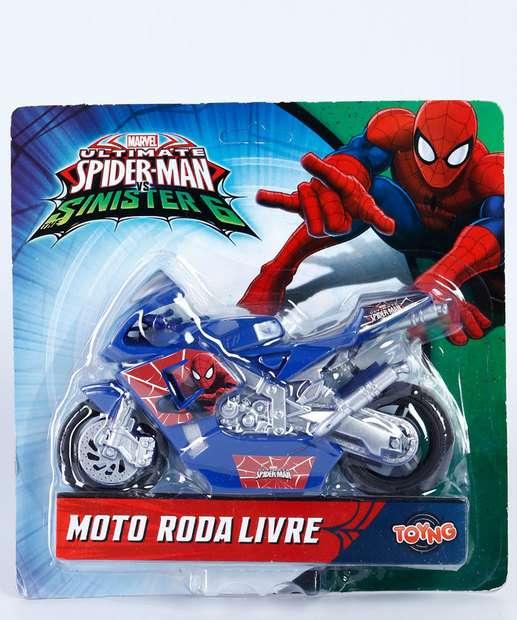 Image_Brinquedo Infantil Moto Roda Livre Homem Aranha Marvel