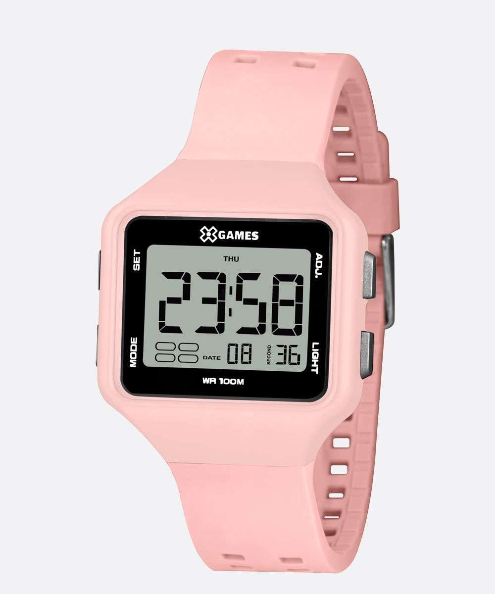 Relógio Feminino Digital XGames  XLPPD035 BXRX