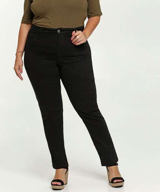 Image_Calça Feminina Sarja Skinny Plus Size Marisa