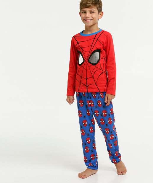 Image_Pijama Infantil Estampa Homem Aranha Manga Longa Marvel