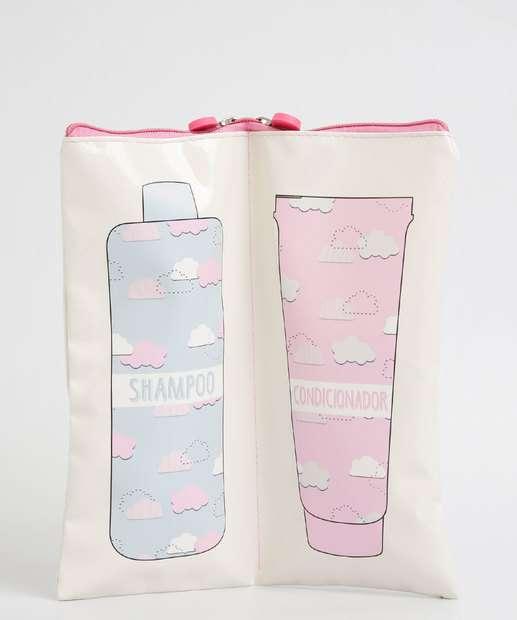 Image_Necessaire Feminina Porta Shampoo e Condicionador Marisa