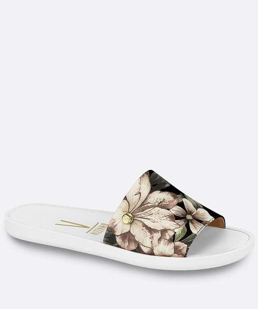Image_Chinelo Feminino Slide Estampa Floral Vizzano