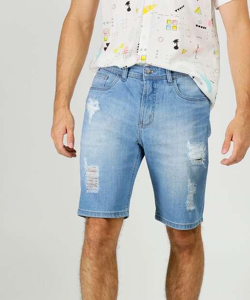 Image_Bermuda Masculina Jeans Destroyed Bolsos MR