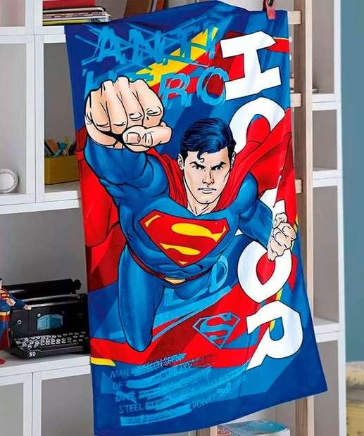 Image_Toalha de Banho Infantil Estampa Super Homem Döhler