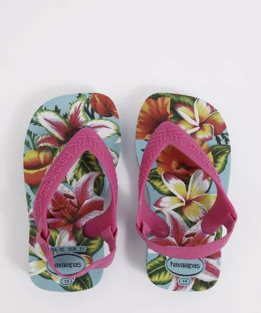 Image_Chinelo Havaianas Infantil Estampa Tropical New Baby