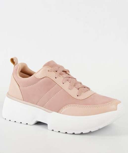 4a2556f056 Tênis Feminino Chuncky Sneaker Nobuck Marisa