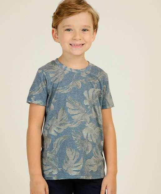 Image_Camiseta Infantil Estampa Folhas Yacht Master Tam 4 a 10