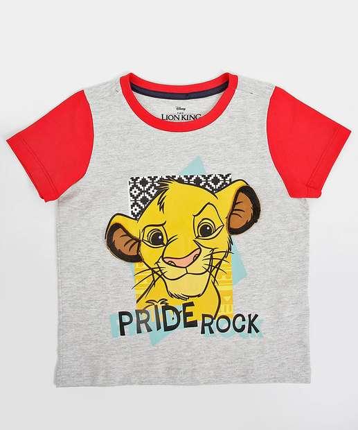 Image_Camiseta Infantil Bebê Estampa O Rei Leão Disney