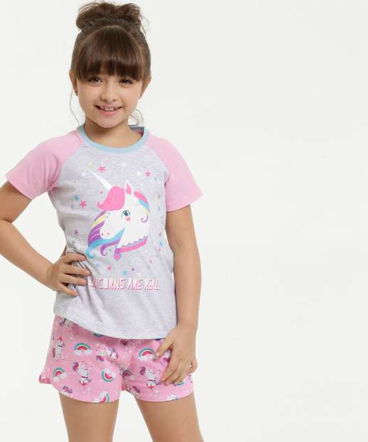 Image_Pijama Infantil Estampa Unicórnio Marisa