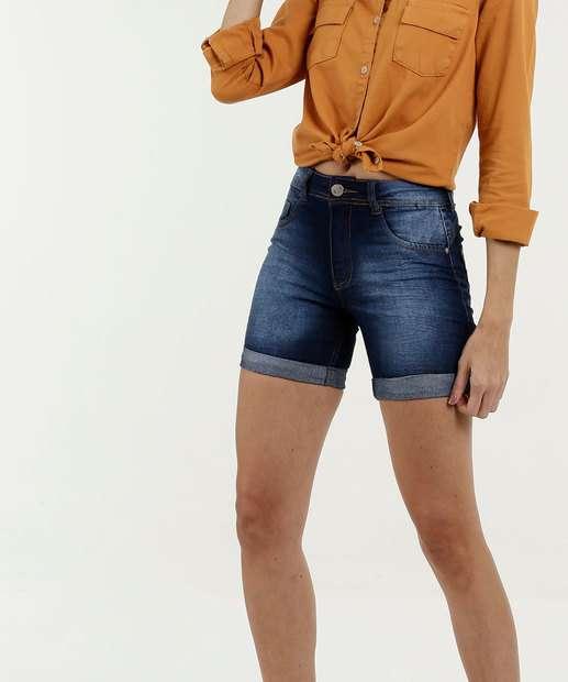 Image_Short Feminino Jeans Stretch Barra Dobrada Biotipo