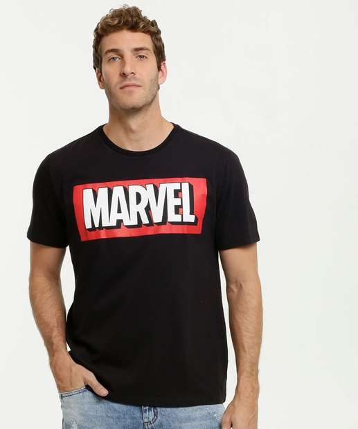 Image_Camiseta Masculina Estampa Frontal Marvel
