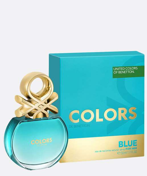Image_Perfume Feminino Colors de Benetton Blue - Eau de Toilette 50ml