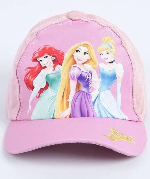 Image_Boné Infantil Estampa Princesas Disney