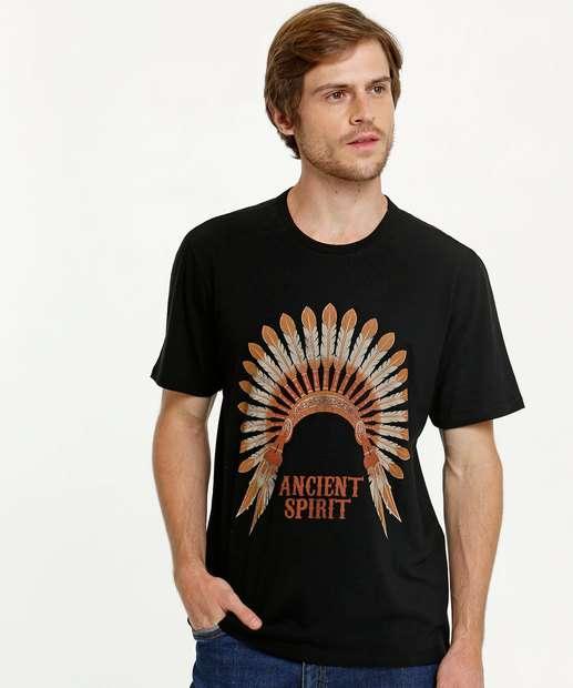 Image_Camiseta Masculina Estampada Manga Curta MR
