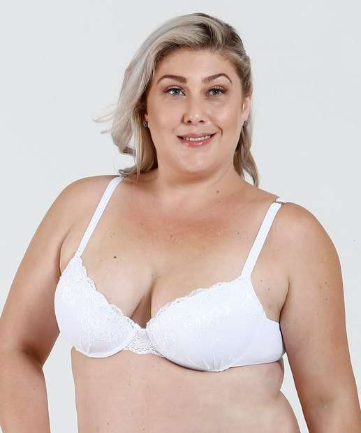Image_ Sutiã Feminino Push Up Renda Plus Size Marisa