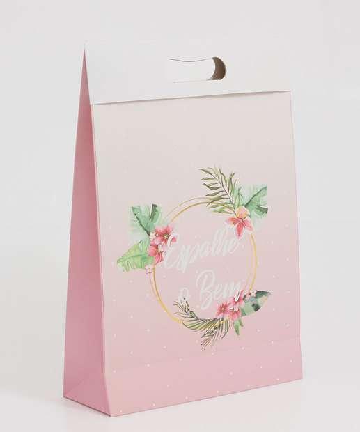 Image_Embalagem Presente Sacola Estampa Floral Marisa