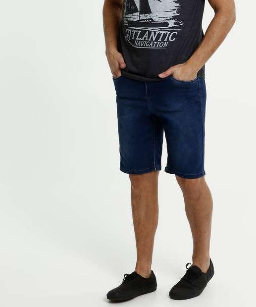 Image_Bermuda Masculina Jeans Bolsos Stretch Razon
