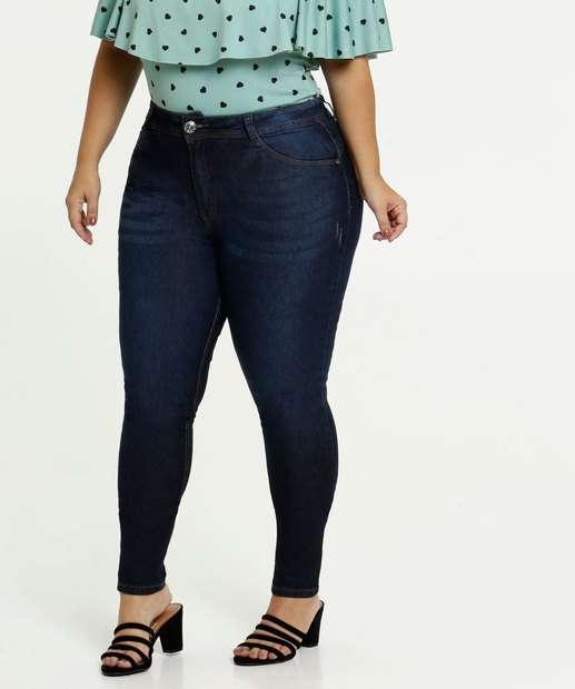 Image_Calça Jeans Puídos Skinny Feminina Plus Size Biotipo