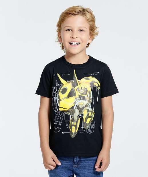 Image_Camiseta Infantil Bumblebee Transformers Hasbro