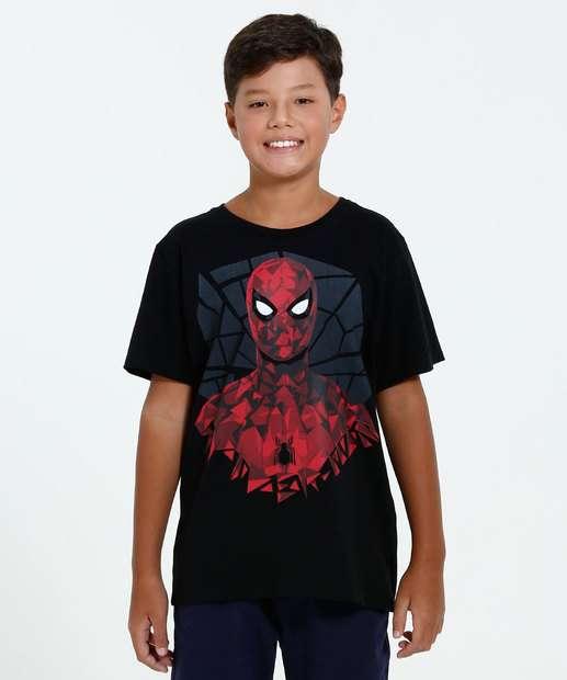 Image_Camiseta Juvenil Manga Curta Homem Aranha Marvel