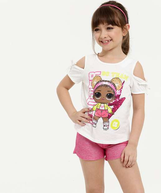 Image_Conjunto Infantil Open Shoulder Estampado Lol