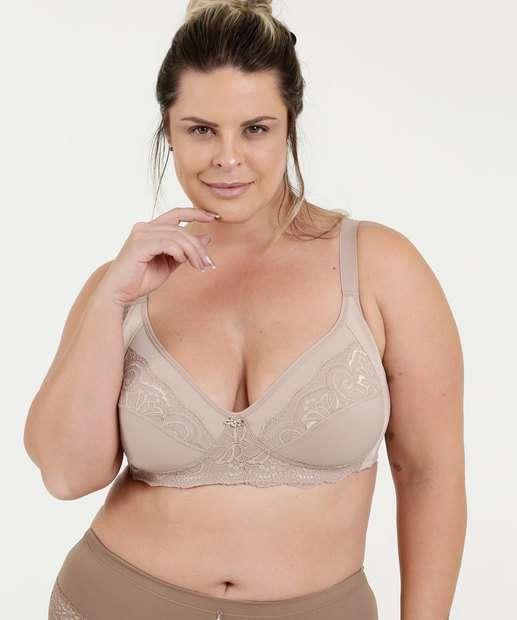 Image_Sutiã Feminino Com Base Sem Aro e Sem Bojo Plus Size Dilady