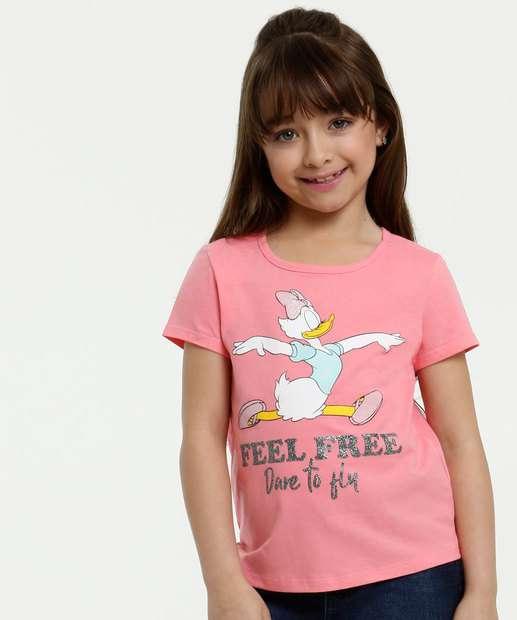 Image_Blusa Infantil Estampa Margarida Manga Curta Disney