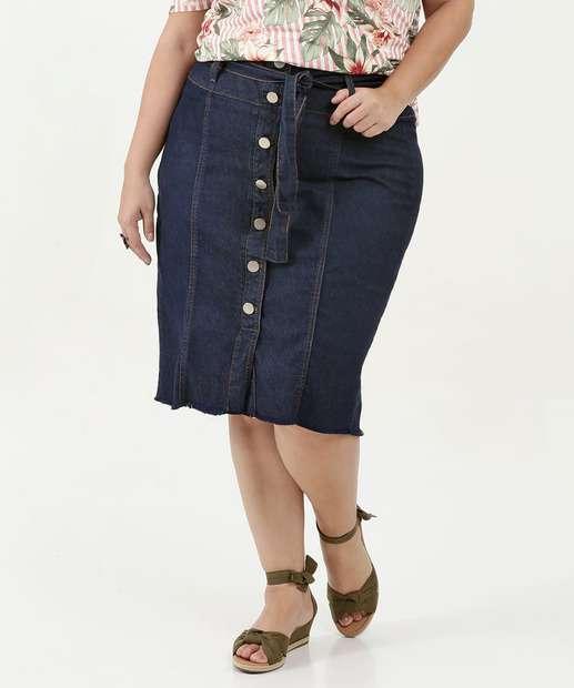 Image_Saia Feminina Jeans Midi Faixa Barra Desfiada Plus Size