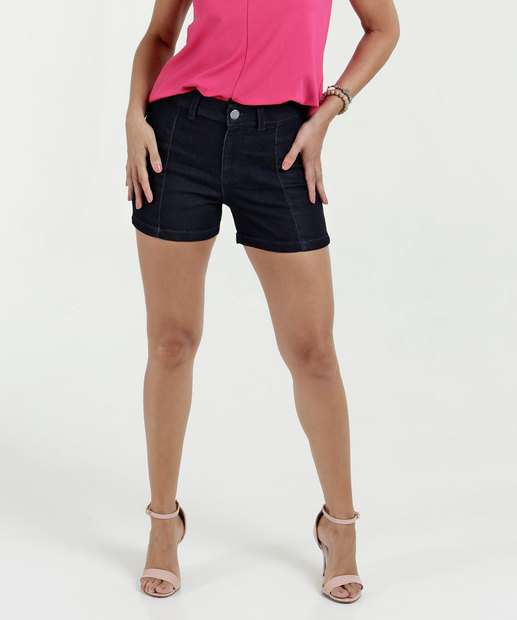 Image_Short Feminino Jeans Hot Pants Marisa
