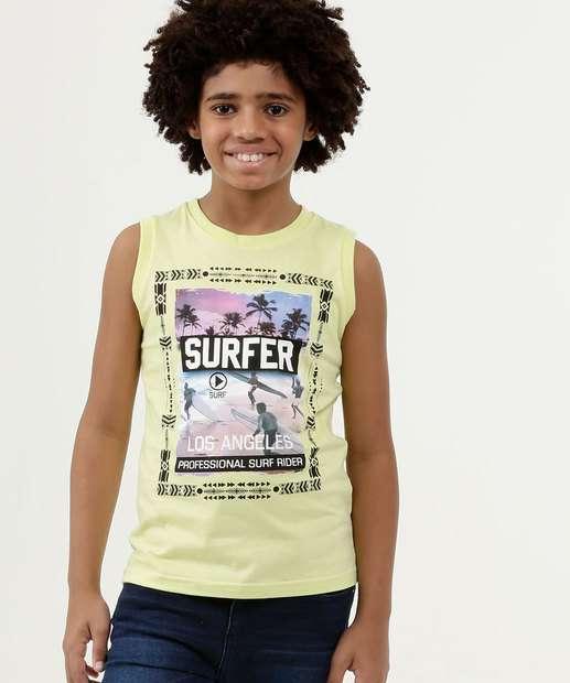 Image_Regata Infantil Estampa Surf