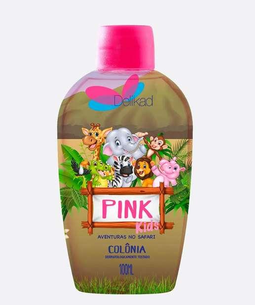 Image_Colônia Infantil Unissex Safari Kids Pink Delikad 100ml
