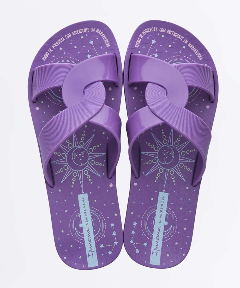 Chinelo Ipanema Feminino Slide Feel Print