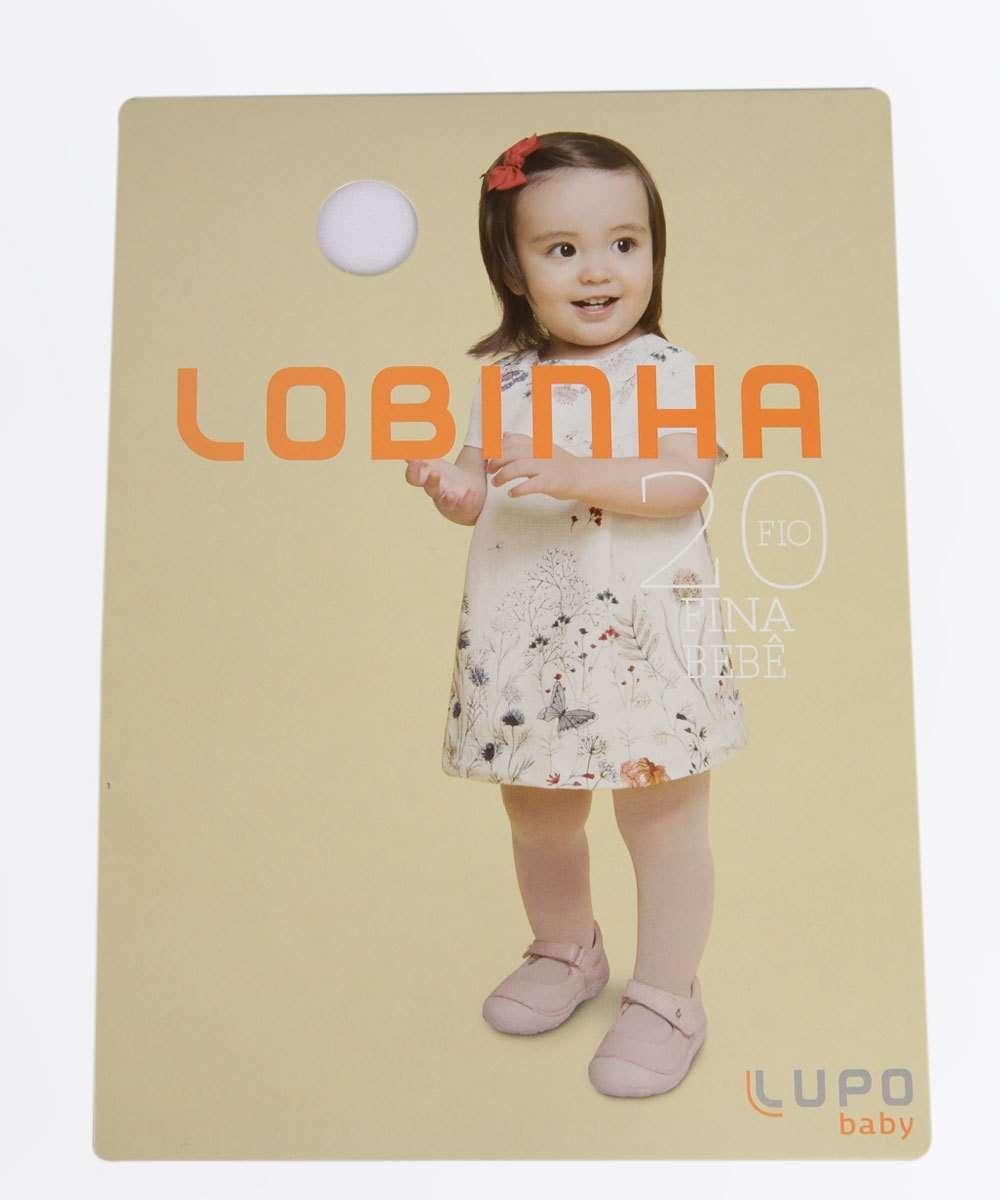 Meia Calça Infantil Bebê Fio 20 Lobinha Lupo