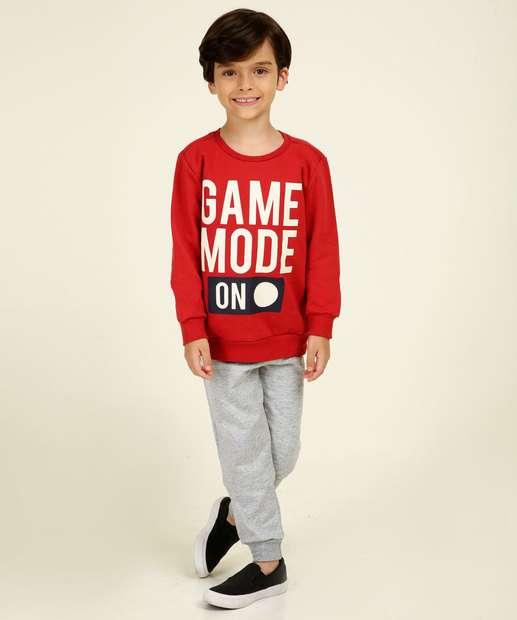 Image_Conjunto Moletom Infantil Estampa Frontal MR Tam 4 a 10