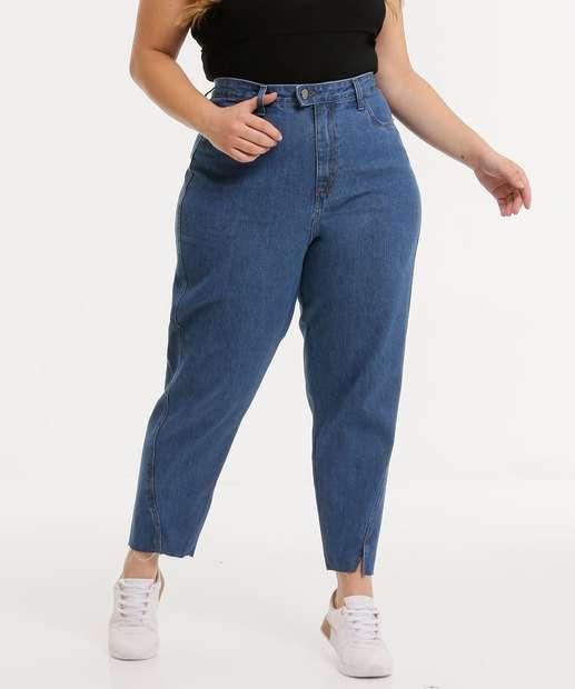 Image_Calça Plus Size Feminina Mom Jeans