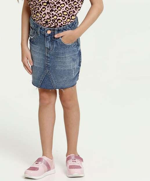 Image_Saia Infantil Jeans Marisa